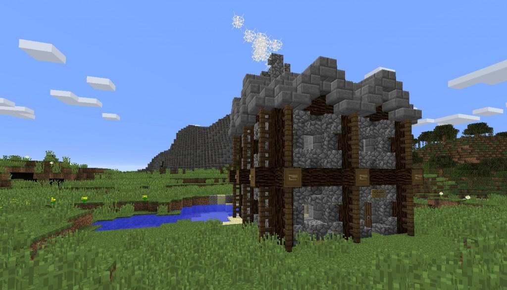 Pinei kivinen rakennus.