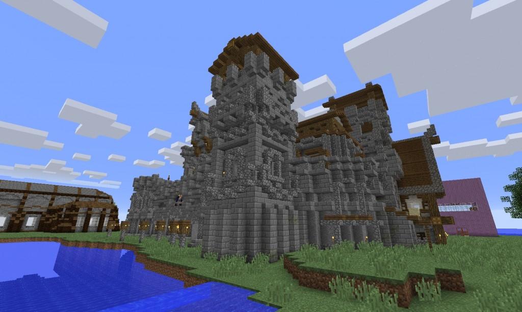 Iso ja hieno linna.