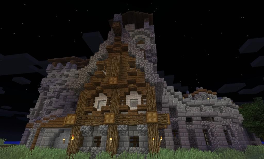 Linnan seinä.