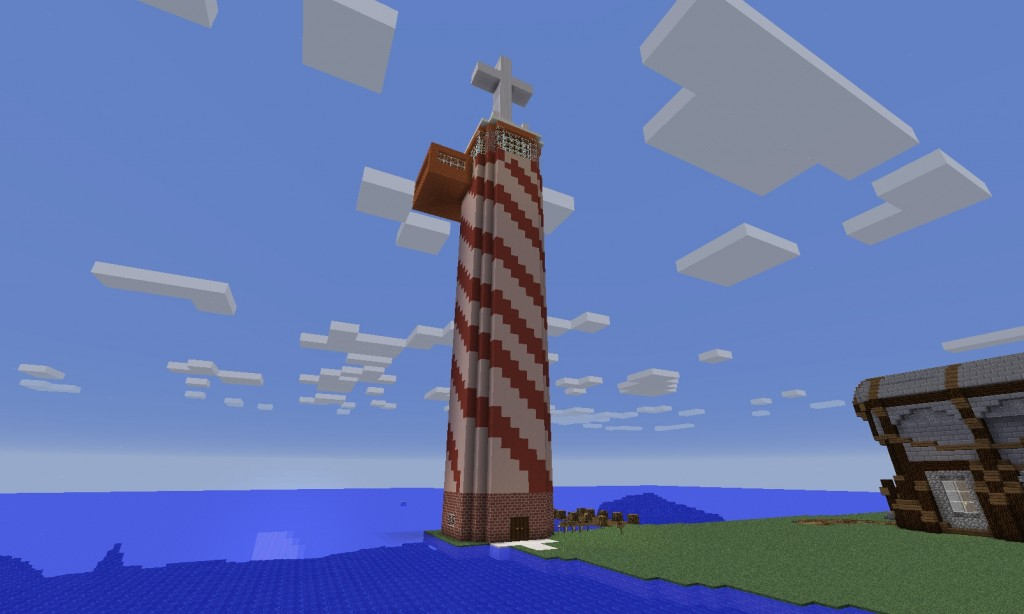Tornin katossa on risti