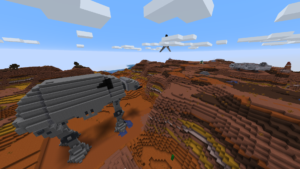 Robotteja ja avaruusrakennelmia.